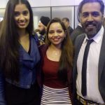 with Sunny and Shay