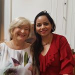 With Diana Cooper